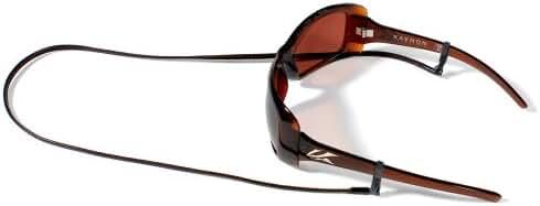 Croakies Sewn Leather Eyewear Retainer, Brown, Spec Ends