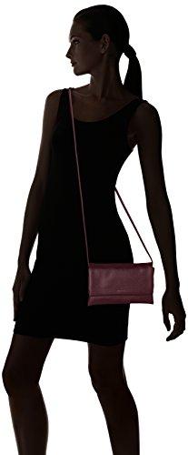 Tamaris Louise Crossbody Bag S /Pack 4 Pcs - Bolsos bandolera Mujer Rojo (Vino)