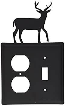 8 Inch Deer Single Outlet & Switch Cover 0