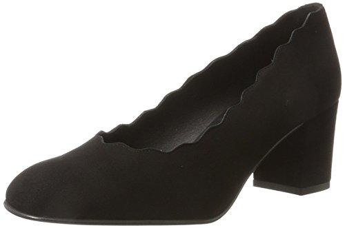à fermés femmes 1 noir Veda noir Chaussures KMB talons pour x1WEnwEH7P