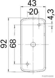 Elparts 82710315 Marker Light