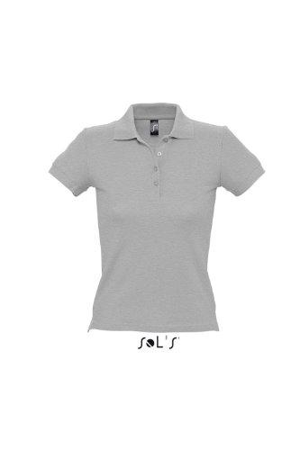 Ladies Polo People 210 Grey Melange M