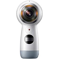 Samsung Gear 360 (2017 Edition) Real 360° 4K VR Camera (US Version with Warranty)