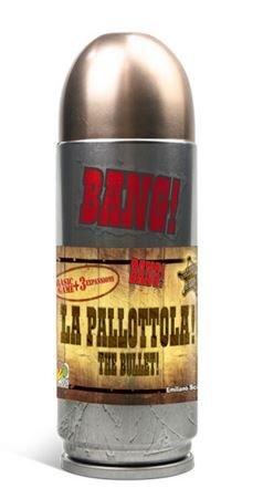 DaVinci BANG! (La Pallottola!) The Bullet! Board Game by DaVinci