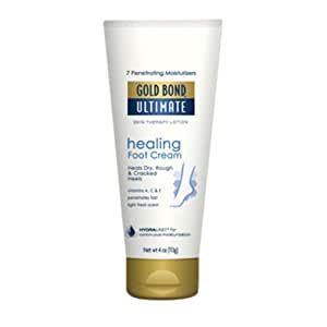 Gold Bond Ultimate Healing Foot Cream, 4 oz (Pack of 2)