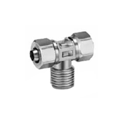 SMC KFG2T0403-01S Stainless Steel 316 Insert Fittings, Male Branch Tee