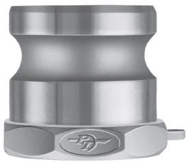 PT Coupling Stainless Steel Cam and Groove Coupling Part A Adapter x Female NPT Thread | Made in USA, 10in by PT Coupling