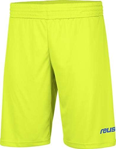 Reusch Soccer Goalkeeper Match Short Adult Medium Lime Green