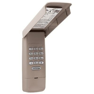Learn Pads - 877MAX Liftmaster Keyless Entry Keypad 377LM 977LM Sears Compatible 315mh 390mhz