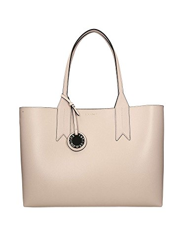 Women's Pink Tote Money Shopping With Emporio Pouch Leather Money Pouch With Tote Armani Shopping 7q8wF8HnZx