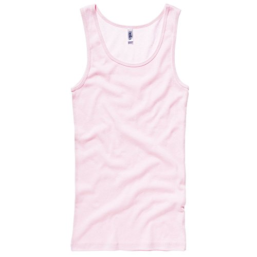 Bella+Canvas Baby rib tank top Soft Pink L