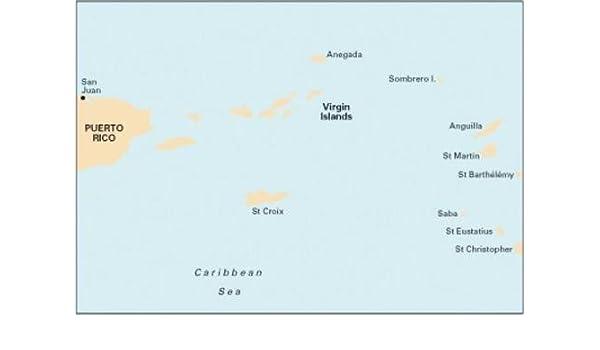 Imray Chart A2: Puerto Rico to the Virgin and Leeward Islands: Imray ...
