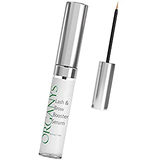 Organys Lash & Brow Booster Serum Gives You Longer Fuller Thicker Looking Eyelashes & Eyebrows. Bestselling Conditioner Stimulates The Appearance Of Growth & Regrowth. Natural Eye Lash Oil Free Enhancer