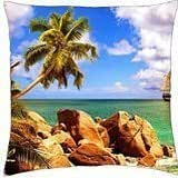 Tropical sailing - Throw Pillow Cover Case (18