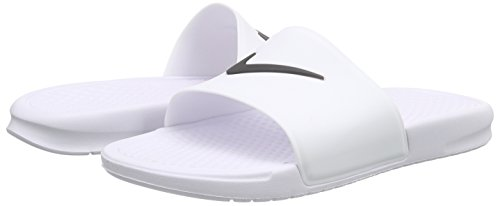 Homme Benassi Slide Blanc Nike De Noir Sport Shower Chaussures Noir blanc Oqnw7FY