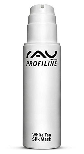 RAU White Tea Silk Mask 150 ml PROFILINE - Beste Anti-Falten Gesichtsmaske - mit Seidenproteinen, Weißem Tee, Panthenol & Sheabutter - Anti-Aging Feuchtigkeit Reinigung - Maske gegen Falten, Mitesser, Pickel - Für reife, unreine, trockene Haut, Damen, Herren