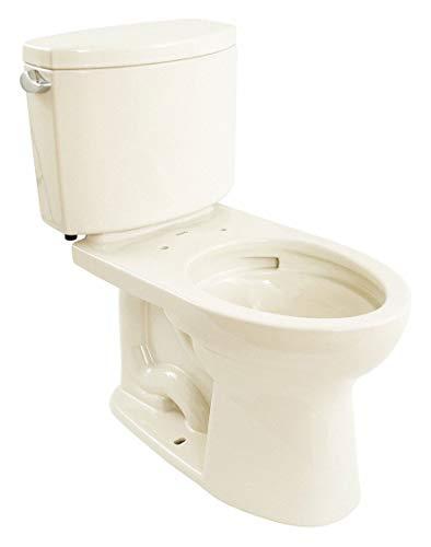 TOTO Drake II Two Piece Tank Toilet, 1.28 Gallons per Flush, Sedona Beige