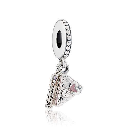 - Pandora Celebration Cake Pink & Silver Dangle Charm 797258ENMX