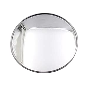 """Newest Upgrade Blind Spot Mirror, Ampper 3"""" Aluminum Frame Round HD Glass Convex Wide Angle Rear View Mirror For All Universal Vehicles Car Suv Truck"""
