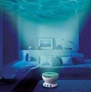 gmcrj (TM) nuevo proyector de luz LED de Noche Océano Daren ...