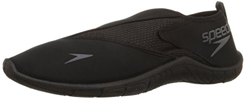 Speedo Men's Surfwalker 3.0 Water Shoe, Black, 10 M US