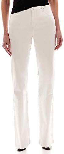 Gloria Vanderbilt Plus Size Amanda Classic Fit Washed Color Denim Jeans