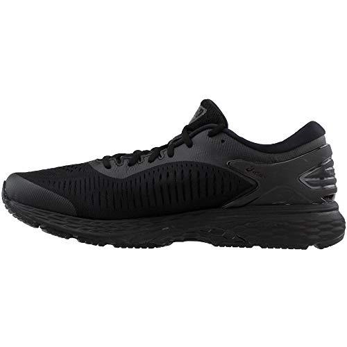 ASICS Gel-Kayano 25 Men's Running Shoe, Black/Black, 7.5 D(M) US by ASICS (Image #3)