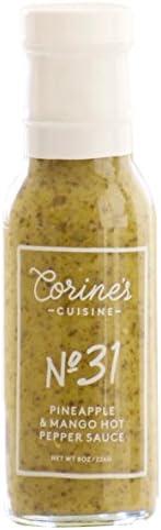 Corine's Cuisine Sauce No. 31 Pineapple and Mango Hot Pepper Sauce,