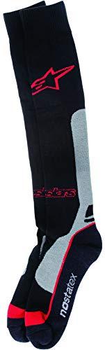 Alpinestars Men's 4702014-131-LXL Sock (Coolmax) (Red/Grey, ()
