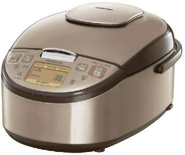 HITACHI Pressure IH Rice Cooker for Overseas (1.8L Type) RZ-KG18Y-N (GOLD) Overseas Model (AC220V~AC230V)【Ships from Japan】 ()