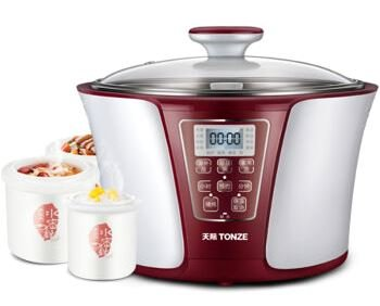 Tonze Electric Stew/Slow Cooker DGD32-32EG 3.2L+0.6L+0.45L
