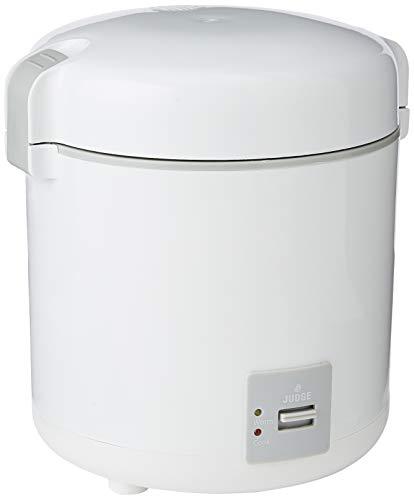 Judge Mini Rice Cooker, White, 300 ml