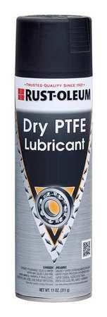 Rust Oleum Dry PTFE Lubricant, Aerosol Can, 11 oz.