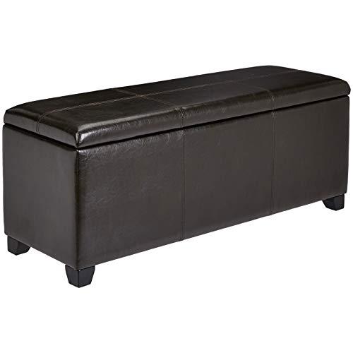 Ball & Cast Stanley Gun Concealment Storage Bench, Mahogany Brown ()