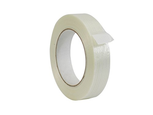 - WOD FIL-795 Commodity Grade Fiberglass Reinforced Filament Strapping Tape - Filaments Run Lengthwise (Also Available in Multiple Sizes): 1 in. Wide x 60 yds. (4 Mil) (Pack of 12)