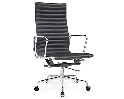 Soho Modern Style Management Chair - Ribbed Italian for sale  Delivered anywhere in USA