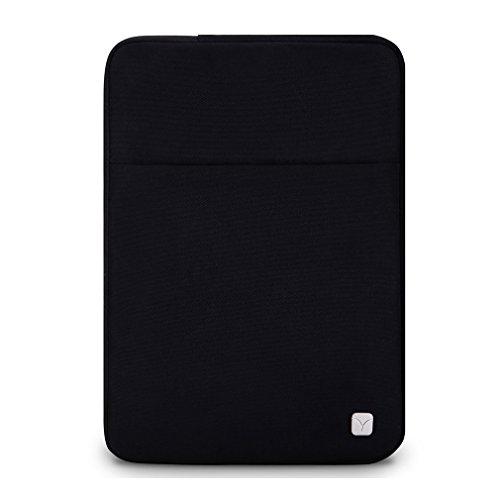 CAISON Laptop Notebook Sleeve Case Classic Tasche Tasche Schutzhülle für 24,6cm iPad Pro/24,6cm iPad Air/Air 2 schwarz