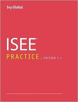 Ivy Global ISEE Practice (Prep Book), Edition 1.1 Ebook Rar