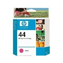 HP Products - HP - 51644M (HP 44) Ink, 1600 Page-Yield, Magenta - Sold As 1 Each - Fade- and smudge-resistant ink. - Colors for high-impact prints. - Visible ink-level indicator warns when ink is low. - Specially designed to work on a variety of HP Design