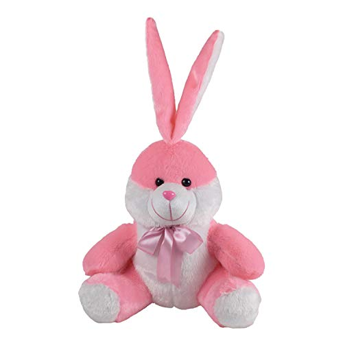 Ultra Sitting Bunny Kids Soft Toy, Pink 11 inches,