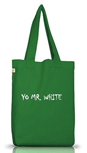 Cotone Algodón Bolso Panno Tela Para Di Muschio Shirtstreet24 Green Mujer Yo Verde White De Moss Bianco Mr I Donna Borsa 1fBxa0wqR