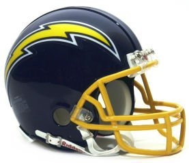 Riddell Mini Replica Throwback Helmet - Riddell Mini Replica Throwback Helmet San Diego Chargers 1974-1987