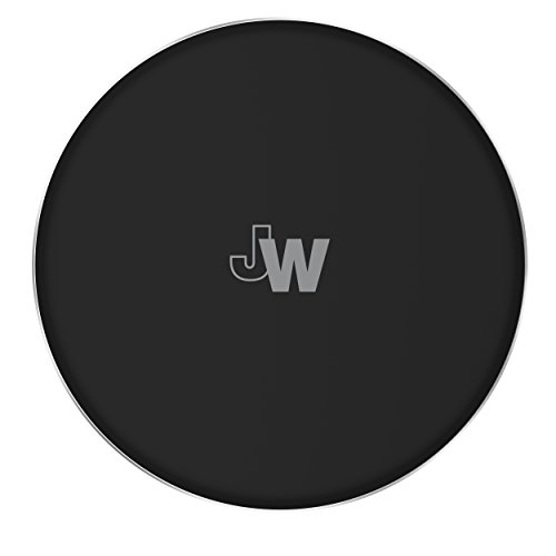 Just Qi Charger 5W/1A Phone Charger - Apple iPhone Xs, XS Max, XR, Plus and Android Black