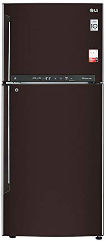 LG 437 L 2 Star Inverter Frost-Free Double Door Refrigerator (GL-T432FRS2, Russet Sheen) 2021 August Frost-free refrigerator; 437 litres Energy Rating: 2 Star Warranty: 1 year on product, 10 years on compressor