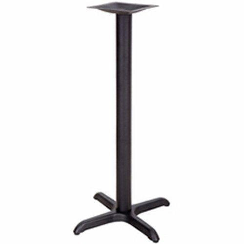 "Kratos 47K-018 Restaurant Table Base - 42"" Bar Height, 22""Wx22""D Base Spread"