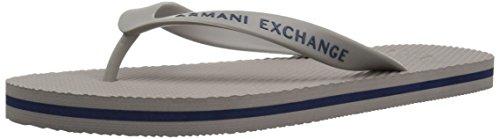 A Armani Armani Flip Logo Exchange Flop X Exchange Classic Alloy Mens qqaWnxrFU5