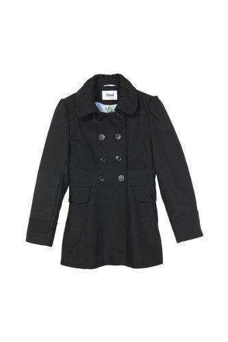 * AW13 * Mimi niños niñas lindo invierno lana doble breasted abrigo sábana bajera ajustable: Amazon.es: Ropa y accesorios