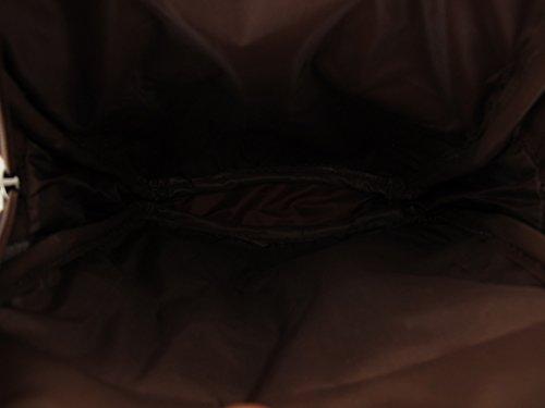 Zeckos - Bolso bandolera de Piel Mujer