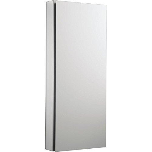 Saa Satin (KOHLER K-2913-PG-SAA Catalan Mirrored Cabinet with 107° Hinge, Satin Anodized Aluminum)