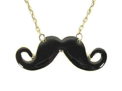 british mustache necklace - 9